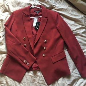 NEW Red/Maroon Blazer